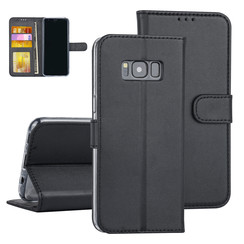 Samsung Galaxy S8 Black Book type case - Card holder