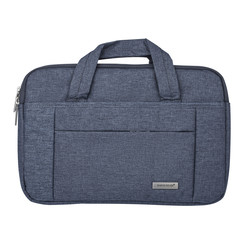Universeel Universal 15 inch Laptop tasche Grau - Smooth