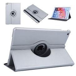 Apple iPad 10.2 2019 Zilver Book Case Tablethoes Draaibaar