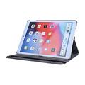 Andere merken Apple iPad 10.2 2019 Book Case Tablet Silber Drehbar - Kunstleer