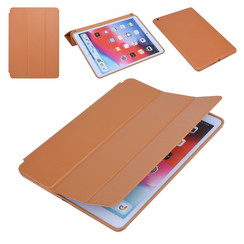 Apple iPad 10.2 2019 Marron Tablet Housse Smart Case