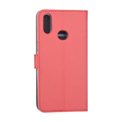 Andere merken Samsung Galaxy A10s Book type housse Titulaire de la carte Rouge