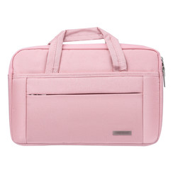 Universeel Universal 14 inch Laptop tasche Pink - Smooth