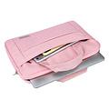 Andere merken Universeel Universal 14 inch Laptop tasche Pink Smooth - Kunstleer