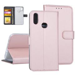 Samsung Galaxy A10s Rose Gold Book type case - Card holder
