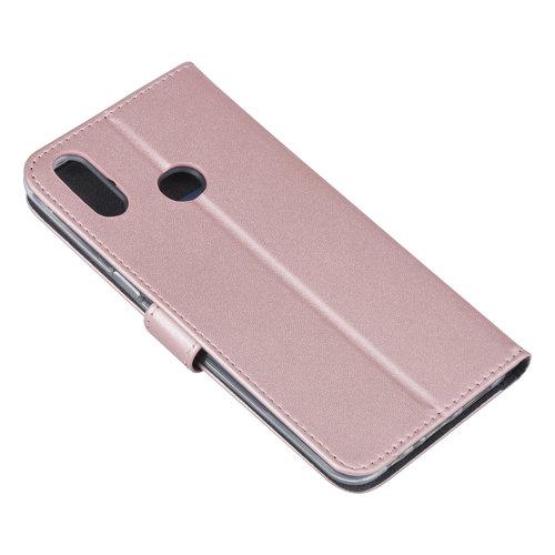 Andere merken Samsung Galaxy A10s Book type housse Titulaire de la carte Rose Or