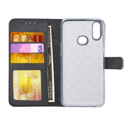 Andere merken Samsung Galaxy A10s Book-Case hul Rose Gold Kartenhalter - Kunstleer