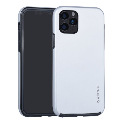 Andere merken Apple iPhone 11 Pro Back-Cover hul Silber Soft Touch - Kunststof
