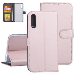 Samsung Galaxy A50 Rose Gold Book type case - Card holder