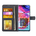 Andere merken Samsung Galaxy A70 Book-Case hul Schwarz - Kartenhalter