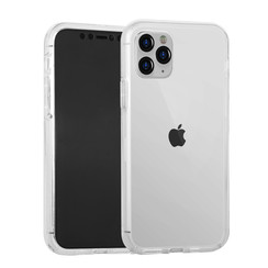 Apple iPhone 11 Pro Transparant Backcover hoesje Soft Touch - Kunststof