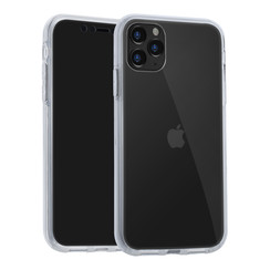 Apple iPhone 11 Pro Max Transparant Backcover hoesje Soft Touch - Kunststof