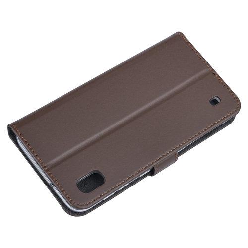 Andere merken Samsung Galaxy A10 Book-Case hul Braun - Kartenhalter