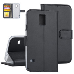 Samsung Galaxy S5 Book type case Card holder Black for Galaxy S5