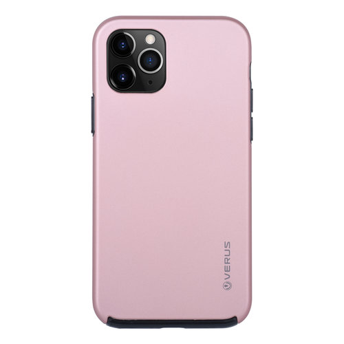 Andere merken Apple iPhone 11 Pro Back cover coque Soft Touch Rose Or
