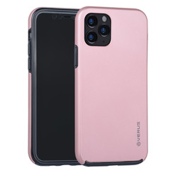 Apple iPhone 11 Pro Rose Gold Backcover hoesje Soft Touch - Kunststof