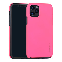 Apple iPhone 11 Pro Hot Pink Backcover hoesje Soft Touch - Kunststof