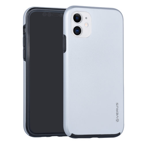 Andere merken Apple iPhone 11 Back-Cover hul Silber - Soft Touch