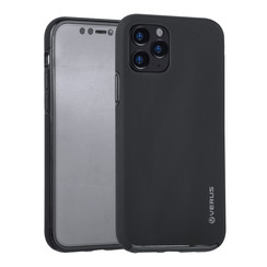 Apple iPhone 11 Pro Zwart Backcover hoesje Soft Touch - Kunststof