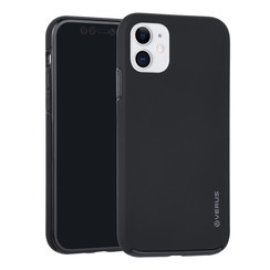 Apple iPhone 11 Zwart Backcover hoesje Soft Touch - Kunststof
