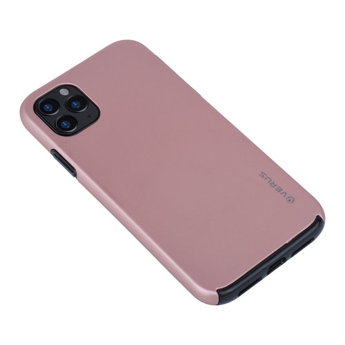 Andere merken Apple iPhone 11 Pro Max Back-Cover hul Rose Gold - Soft Touch
