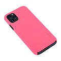 Andere merken Apple iPhone 11 Pro Max Back-Cover hul Hot Pink Soft Touch - Kunststof