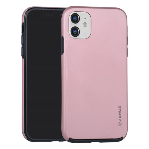 Andere merken Apple iPhone 11 Back cover coque Soft Touch Rose Or