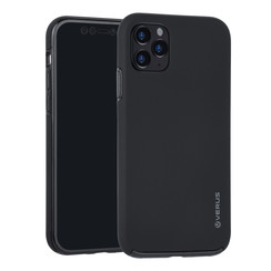 Apple iPhone 11 Pro Max Zwart Backcover hoesje Soft Touch - Kunststof