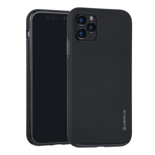 Andere merken Apple iPhone 11 Pro Max Back-Cover hul Schwarz Soft Touch - Kunststof