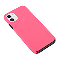 Andere merken Apple iPhone 11 Back cover case Soft Touch Hot Pink for iPhone 11