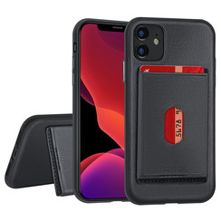 Apple iPhone 11 Back cover case Card holder Black for iPhone 11