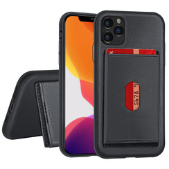Apple iPhone 11 Pro Back cover case Card holder Black for iPhone 11 Pro
