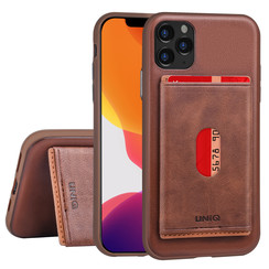 Apple iPhone 11 Pro Back cover case Card holder Brown for iPhone 11 Pro