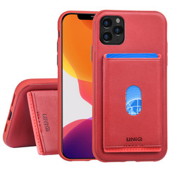 Apple iPhone 11 Pro Back cover case Card holder Red for iPhone 11 Pro