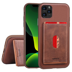 Apple iPhone 11 Pro Max Back cover case Card holder Brown for iPhone 11 Pro Max