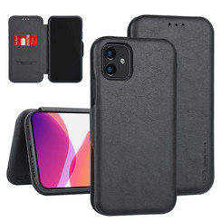 Apple iPhone 11 Book type case Card holder Black for iPhone 11