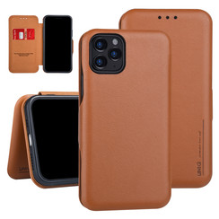 Apple iPhone 11 Pro Book type case Card holder Brown for iPhone 11 Pro