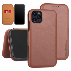 Apple iPhone 11 Pro Max Book type case Card holder Brown for iPhone 11 Pro Max