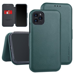 Apple iPhone 11 Pro Max Book type case Card holder Green for iPhone 11 Pro Max
