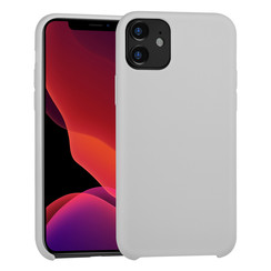 Apple iPhone 11 Back cover coque Soft Touch Gris