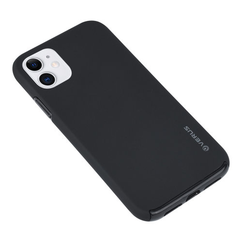 Andere merken Apple iPhone 11 Back cover coque Soft Touch Noir