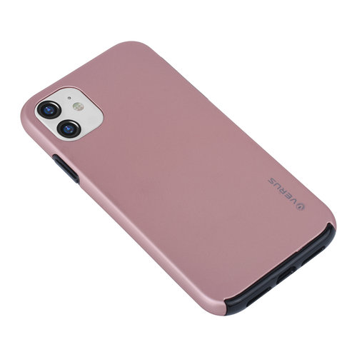 Andere merken Apple iPhone 11 Back-Cover hul Rose Gold - Soft Touch