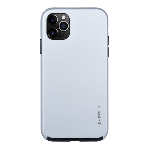 Andere merken Apple iPhone 11 Pro Max Back-Cover hul Silber Soft Touch - Kunststof