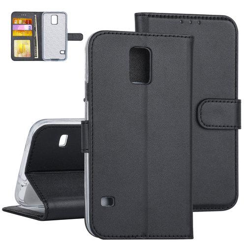 Andere merken Samsung Galaxy S5 Book-Case hul Schwarz - Kartenhalter