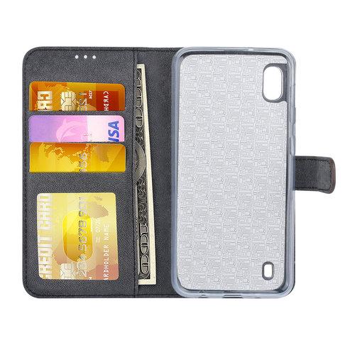 Andere merken Samsung Galaxy A10 Book type housse Titulaire de la carte Marron