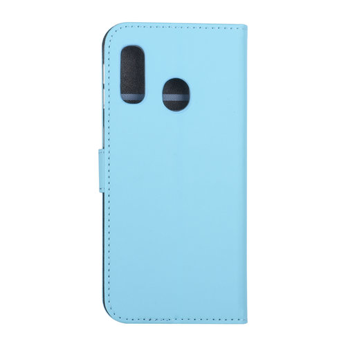 Andere merken Samsung Galaxy A40 Book type housse Titulaire de la carte Bleu