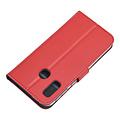 Andere merken Samsung Galaxy A40 Book-Case hul Rot - Kartenhalter