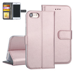 Apple iPhone 7/8 Book type case Card holder Rose Gold for iPhone 7/8