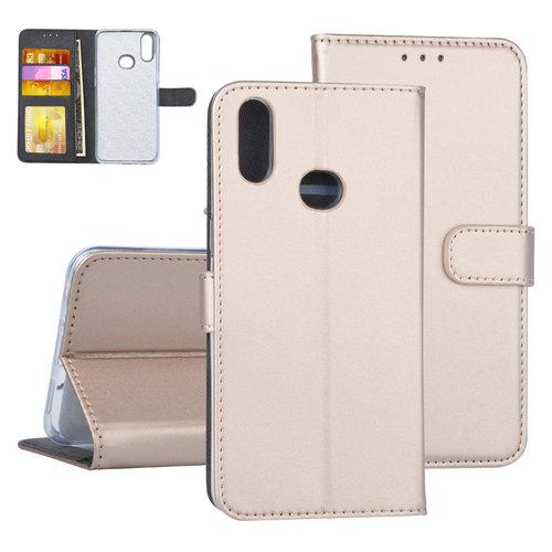 Andere merken Samsung Galaxy A10s Book-Case hul Gold - Kartenhalter
