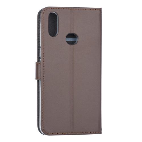 Andere merken Samsung Galaxy A10s Book-Case hul Braun - Kartenhalter